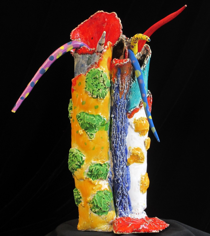 art. ceramic art object. colorfuljpg