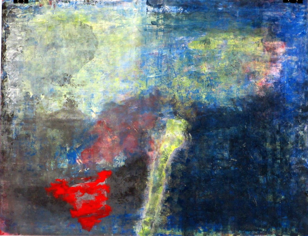 Abstract painting by Saatchiart artist #Marinadewit