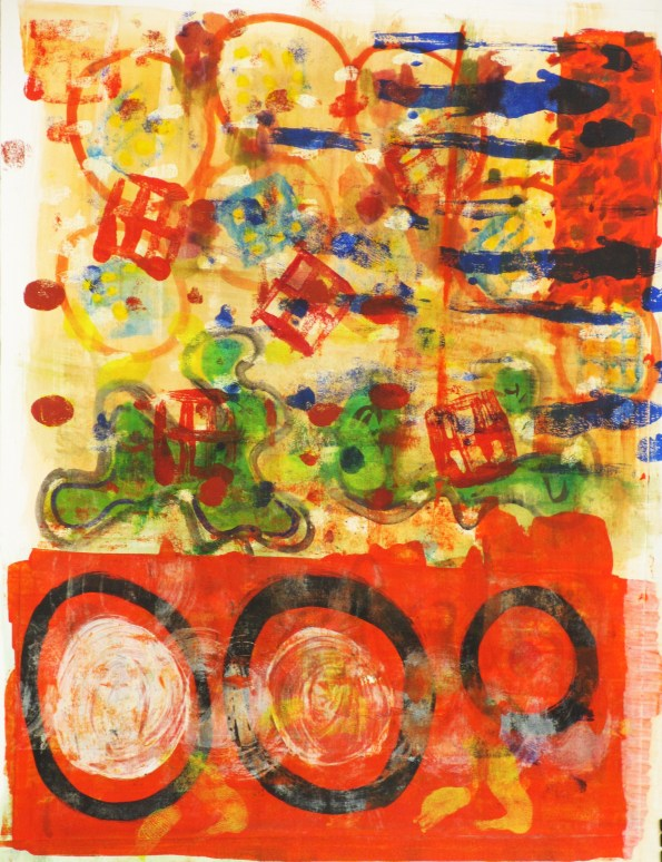 Collage-painting-abstract
